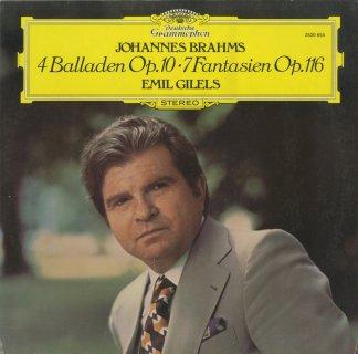 ブラームス:4つのバラードOp.10,7つの幻想曲Op.116