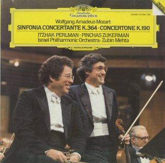 モーツァルト:協奏交響曲K.364,コンチェルトーネK.190