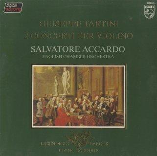 タルティーニ:ヴァイオリン協奏曲(2曲)