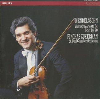 メンデルスゾーン:ヴァイオリン協奏曲 Op.64,弦楽八重奏曲 Op.20