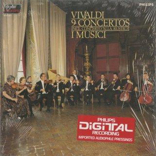 ヴィヴァルディ:弦楽のための協奏曲(9曲)