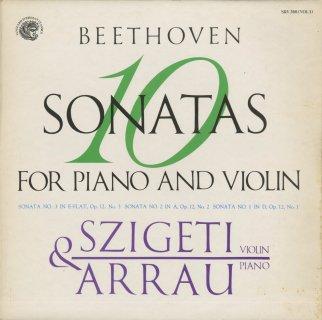ベートーヴェン:ヴァイオリン・ソナタ(全10曲)(完結)