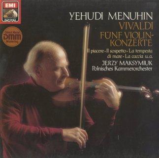 ヴィヴァルディ:ヴァイオリン協奏曲(5曲)