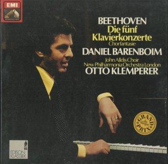 ベートーヴェン:ピアノ協奏曲全集(5曲),合唱幻想曲