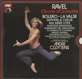 「ラヴェル:管弦楽作品集」ボレロ,ラ・ヴァルス,スペイン狂詩曲,ダフニスとクロエ,マ・メール・ロワ,クープランの墓,他