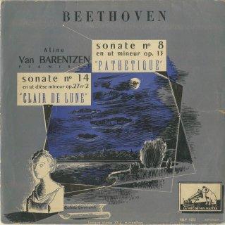 ベートーヴェン:ピアノ・ソナタ14番Op.27-2「月光」,8番Op.13「悲愴」