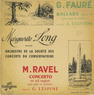 フォーレ:ピアノと管弦楽のためのバラードOp.19,ラヴェル:ピアノ協奏曲