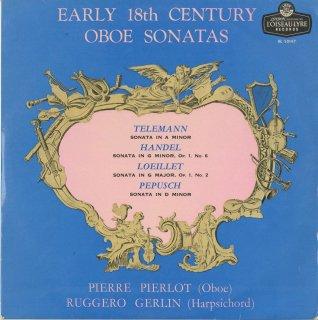 「18世紀オーボエ・ソナタ集」テレマン,ヘンデル:Op.1-6,ルイエ:Op.1-2,ペープシュ