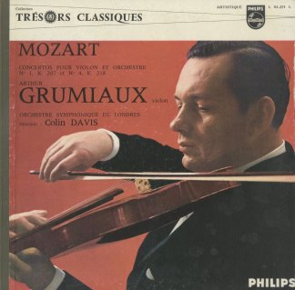 モーツァルト:ヴァイオリン協奏曲1番K.207,4番「軍隊」K.218