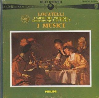 ロカテッリ:ヴァイオリンの技法Op.3-1,8,9