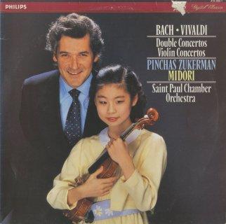 バッハ:ヴァイオリン協奏曲2番BWV.1042,2ヴァイオリン協奏曲BWV.1043,ヴィヴァルディ:ヴァイオリン協奏曲RV.199「疑い」,合奏協奏曲Op.3-8,