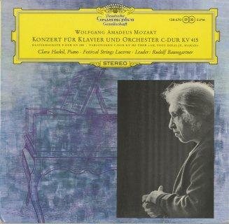 モーツァルト:ピアノ協奏曲13番K.415,ピアノ・ソナタ2番K.280,キラキラ星変奏曲K.265