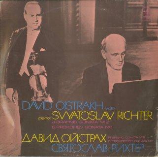 ヴァイオリン・ソナタ集/ブラームス:2番Op.100,プロコフィエフ:1番Op.80