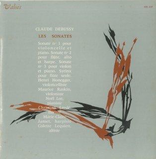 ドビュッシー:チェロ・ソナタ,フルート・ヴィオラ・ハープのためのソナタ,ヴァイオリン・ソナタ,パンの笛