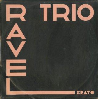 ラヴェル:ピアノ・トリオ,ルーセル:フルート・トリオOp.40,弦楽トリオOp.58