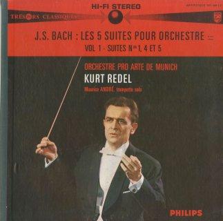 バッハ:管弦楽組曲全集(BWV.1066〜70)