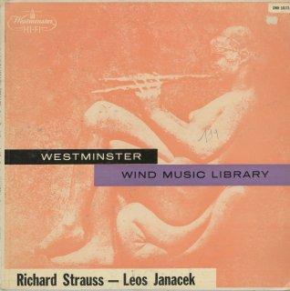 リヒャルト・シュトラウス:13管楽器のための組曲Op.4,13管楽器のためのセレナードOp.7,ヤナーチェク:コンチェルティーノ