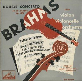 ブラームス:ヴァイオリンとチェロのための二重協奏曲Op.102