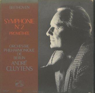 ベートーヴェン:交響曲2番Op.36,プロメテウスの創造物Op.43〜序曲