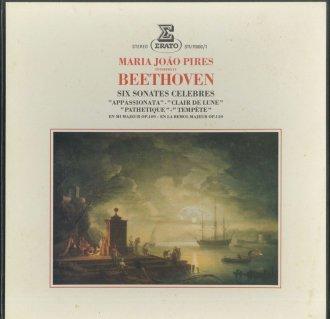 ベートーヴェン:ピアノ・ソナタ8番「悲愴」,14番「月光」,17番「テンペスト」,23番「熱情」,30番,31番