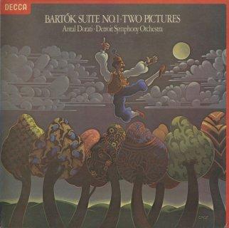 バルトーク:組曲1番Op.3,2つの映像Op.10