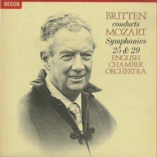 モーツァルト:交響曲25番K.183,29番K.201