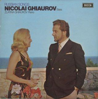 「ロシア・歌曲集」チャイコフスキー(6曲),ボロディン,グリンカ,ルービンシュタイン,ダルゴムジンスキー