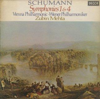 シューマン:交響曲1番Op.38「春」,4番Op.120
