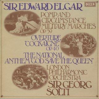 エルガー:行進曲「威風堂々」(全5曲),序曲「コケイン」,英国国歌