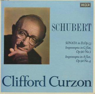 シューベルト:ピアノ・ソナタ17番Op.53,即興曲Op.90-3,4