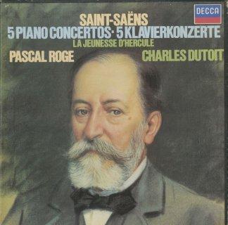 サン・サーンス:ピアノ協奏曲全集(5曲),交響詩「ヘラクレスの青年時代」p.50