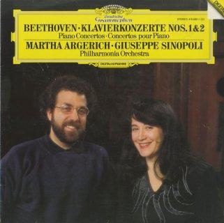 ベートーヴェン:ピアノ協奏曲1番Op.15,2番Op.19
