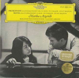 プロコフィエフ:ピアノ協奏曲3番Op.26,ラヴェル:ピアノ協奏曲
