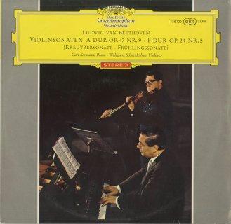 ベートーヴェン:ヴァイオリン・ソナタ「クロイツェル」「春」
