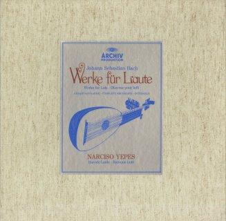 バッハ:リュート曲全集(7曲)/BWV.995〜1000,1006a