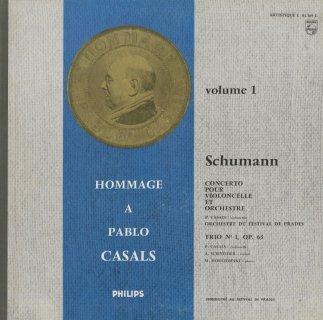 シューマン:チェロ協奏曲Op.129,ピアノ・トリオ1番Op.63