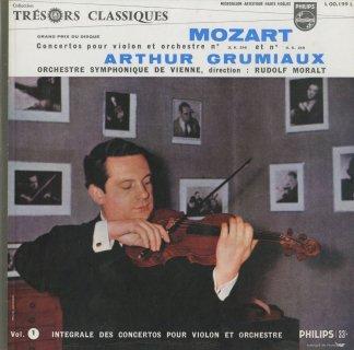 モーツァルト:ヴァイオリン協奏曲1-5,7番
