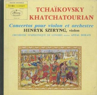 ヴァイオリン協奏曲集/チャイコフスキー:Op.35,ハチャトゥリャン