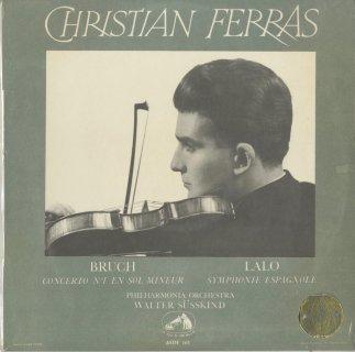 ブルッフ:ヴァイオリン協奏曲1番Op.26,ラロ:スペイン交響曲Op.26