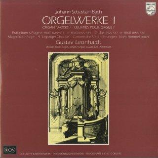 バッハ:オルガン作品集/5つのカノン風変奏曲,前奏曲とフーガBWV.533,544,547,548,コラールBWV.733,656,659,658,668