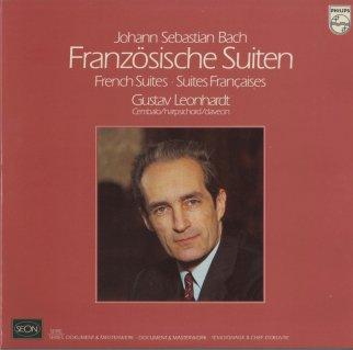 バッハ:フランス組曲BWV.812〜817(全6曲)