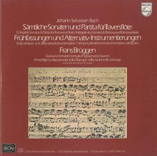 バッハ:フルート・ソナタ(4曲),無伴奏フルート・ソナタBWV.1013,協奏曲(断章)