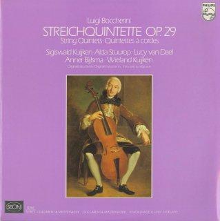 ボッケリーニ:6つの弦楽五重奏曲Op.29