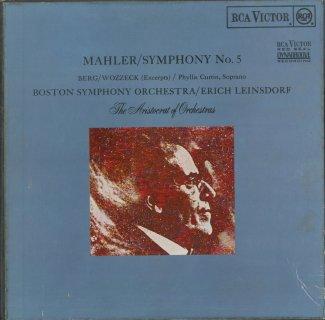 マーラー:交響曲5番,ベルク:ヴォツェック(ハイライト)