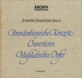 バッハ:ブランデンブルク協奏曲(全6曲),管弦楽組曲,音楽の捧げ物BWV.1079