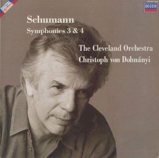 シューマン:交響曲3番Op.97,4番Op.120