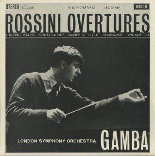 ロッシーニ:序曲集/泥棒かささぎ,絹のはしご,セビーリャ,セミラーミデ,ウィリアム・テル