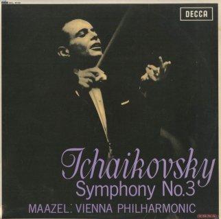 チャイコフスキー:組曲3番Op.55