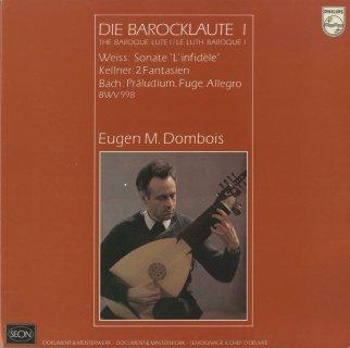 「バロック・リュート音楽集Vol.1&2」バッハ:組曲BWV.995,バッハ:前奏曲とフーガとアレグロBWV.998,コンラーディ:組曲,ワイス:ロジ伯爵の死を悼むトンボー,ケルナー,他