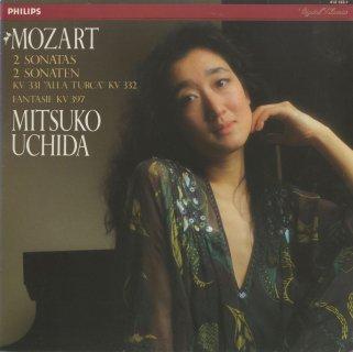 モーツァルト:ピアノ・ソナタ11番「トルコ行進曲付」K.331,12番K.332,幻想曲K.397